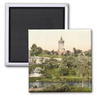 Burn's Monument, Ayr, Ayrshire, Scotland 2 Inch Square Magnet