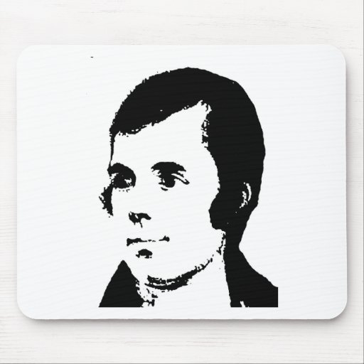 Burns Mouse Pad