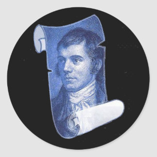 Burns Portrait Stickers