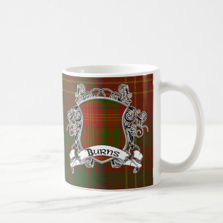 Burns Tartan Shield Coffee Mug