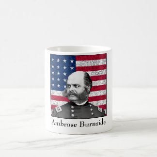 Burnside and The U.S. Flag Coffee Mug