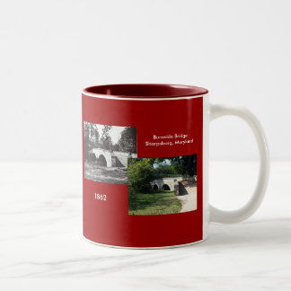 Burnside Bridge--1862 Two-Tone Coffee Mug