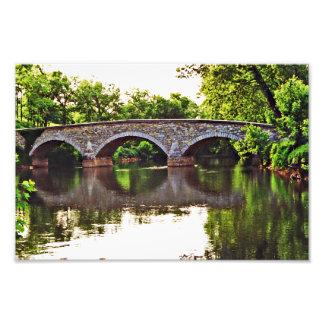 Burnside Bridge Antietam Art Photo