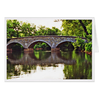 Burnside Bridge Antietam Card