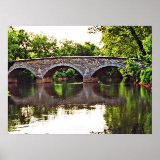 Burnside Bridge Antietam Print