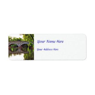 Burnside Bridge Antietam Return Address Label