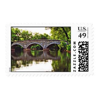 Burnside Bridge Antietam Stamp