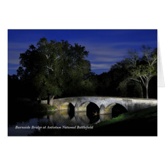 Burnside Bridge at Antietam National Battlefield Card