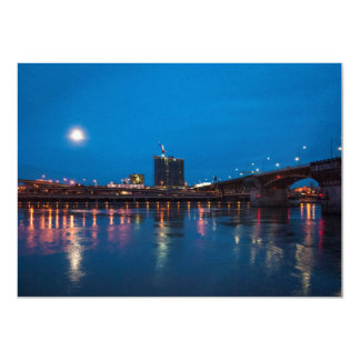 Burnside Bridge at Night, Portland Card