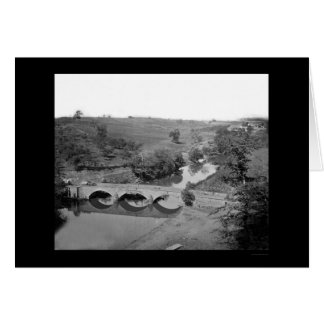 Burnside Bridge near Antietam 1862 Card
