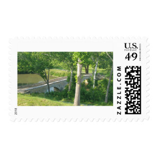 Burnside Bridge Postage Stamp