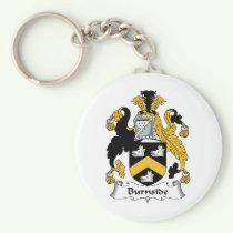 Burnside Family Crest Keychain