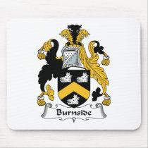 Burnside Family Crest Mousepad