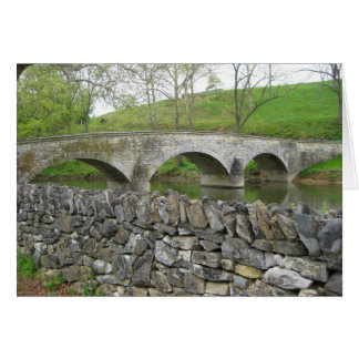 Burnside's Bridge, Antietam Creek, Sharpsburg, MD Card
