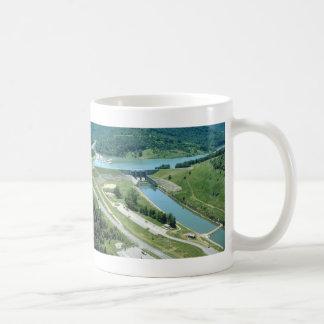 Burnsville Lake and Dam Classic White Coffee Mug