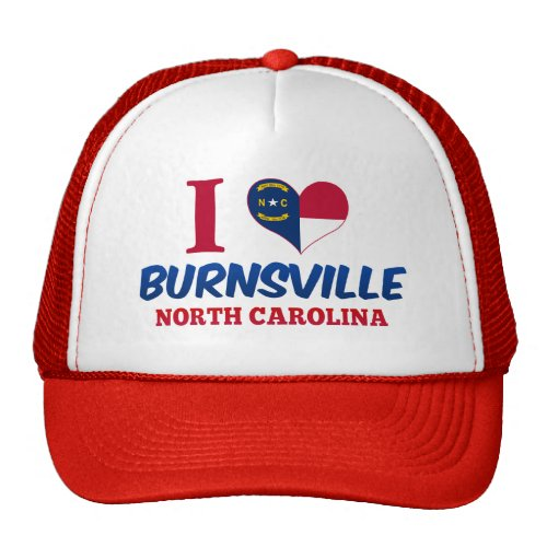 Burnsville, North Carolina Trucker Hats