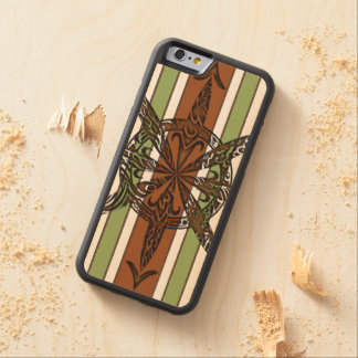 Burnt Chaos Carved Maple iPhone 6 Bumper Case
