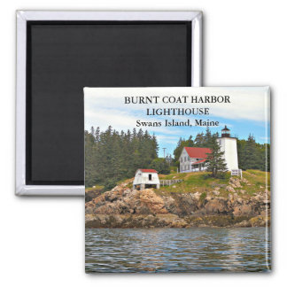 Burnt Coat Harbor Lighthouse, Maine Magnet