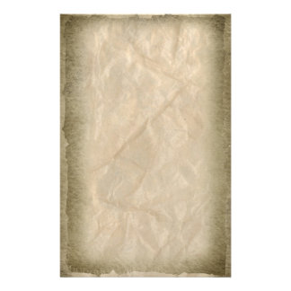 Burnt Edges on Crinkle Paper