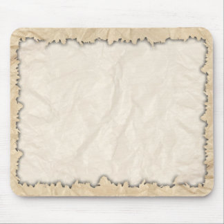 Burnt Edges on Crinkle Paper Mousepad