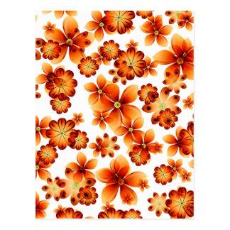 Burnt Flowers by Valxart Postcard