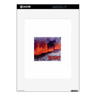 burnt force and pop skin for iPad