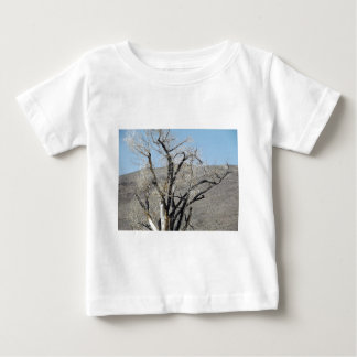 Burnt Gnarly Tree Baby T-Shirt