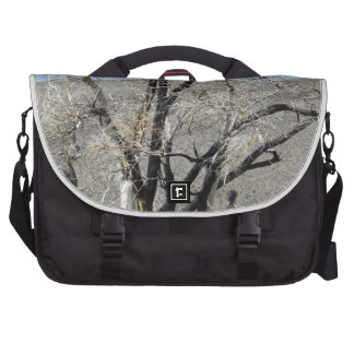 Burnt Gnarly Tree Laptop Bag