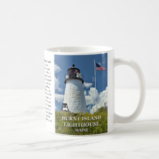 Burnt Island Lighthouse, Maine Mug