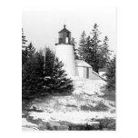 Burnt Island Lighthouse Postcard