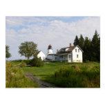 Burnt Island Lighthouse-Postcard Postcard