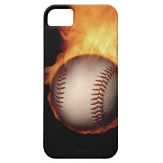 Burnt It In Baseball iPhone SE/5/5s Case
