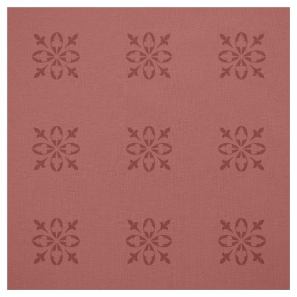 Burnt ombre background with darker damask pattern fabric