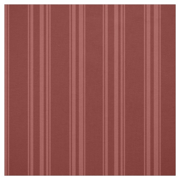 Burnt ombre striped fabric
