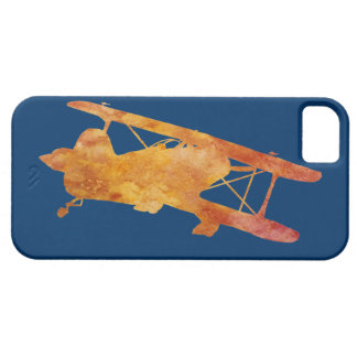 Burnt Orange Biplane iPhone SE/5/5s Case