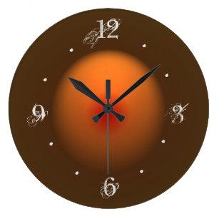 Illuminated Wall Clocks Zazzle