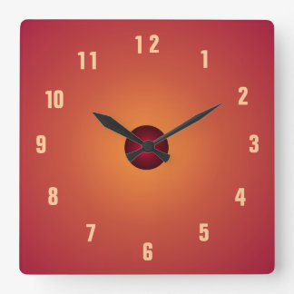 burnt orange clock kitchen clocks. beautiful ideas. Home Design Ideas