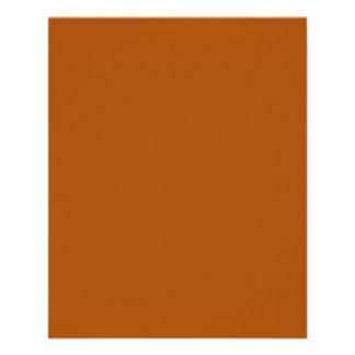 Burnt Orange Flyer