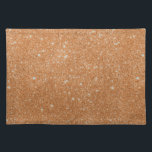 """Burnt Orange Glitter Sparkles Cloth Placemat<br><div class=""""desc"""">Burnt Orange Glitter Sparkles  You can personalize the design further if you&#39;d prefer,  such as by adding your name or other text,  or adjusting the image - just click &#39;Customize&#39; to see all the options.</div>"""