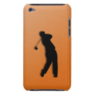 Burnt Orange Golf Sports 4th Generation iPod Touch Case-Mate iPod Touch Case