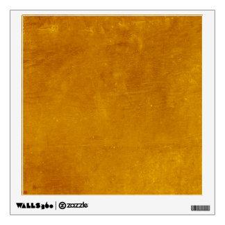 Burnt Orange Magic Wall Sticker