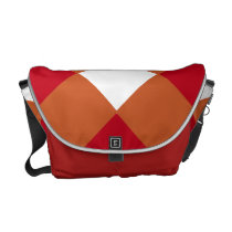 Burnt Orange Maroon Bag