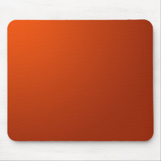 Burnt Orange Mousemat Mouse Pad