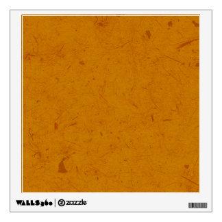 Burnt Orange Papyrus Wall Sticker