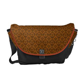 Burnt Orange Renaissance Swirl Messenger Bag