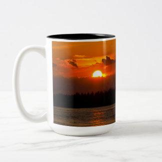 Burnt Orange Sunset Mug