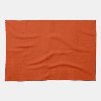 Burnt Orange Template Towel