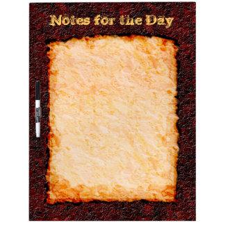 Burnt Parchment Large Dry Erase Board