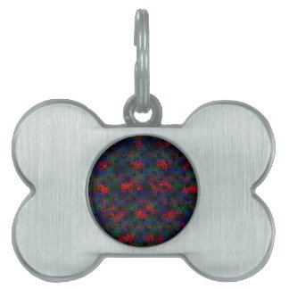 Burnt Rainbow Pet Tag
