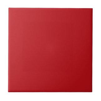 Burnt Red Background Ceramic Tile